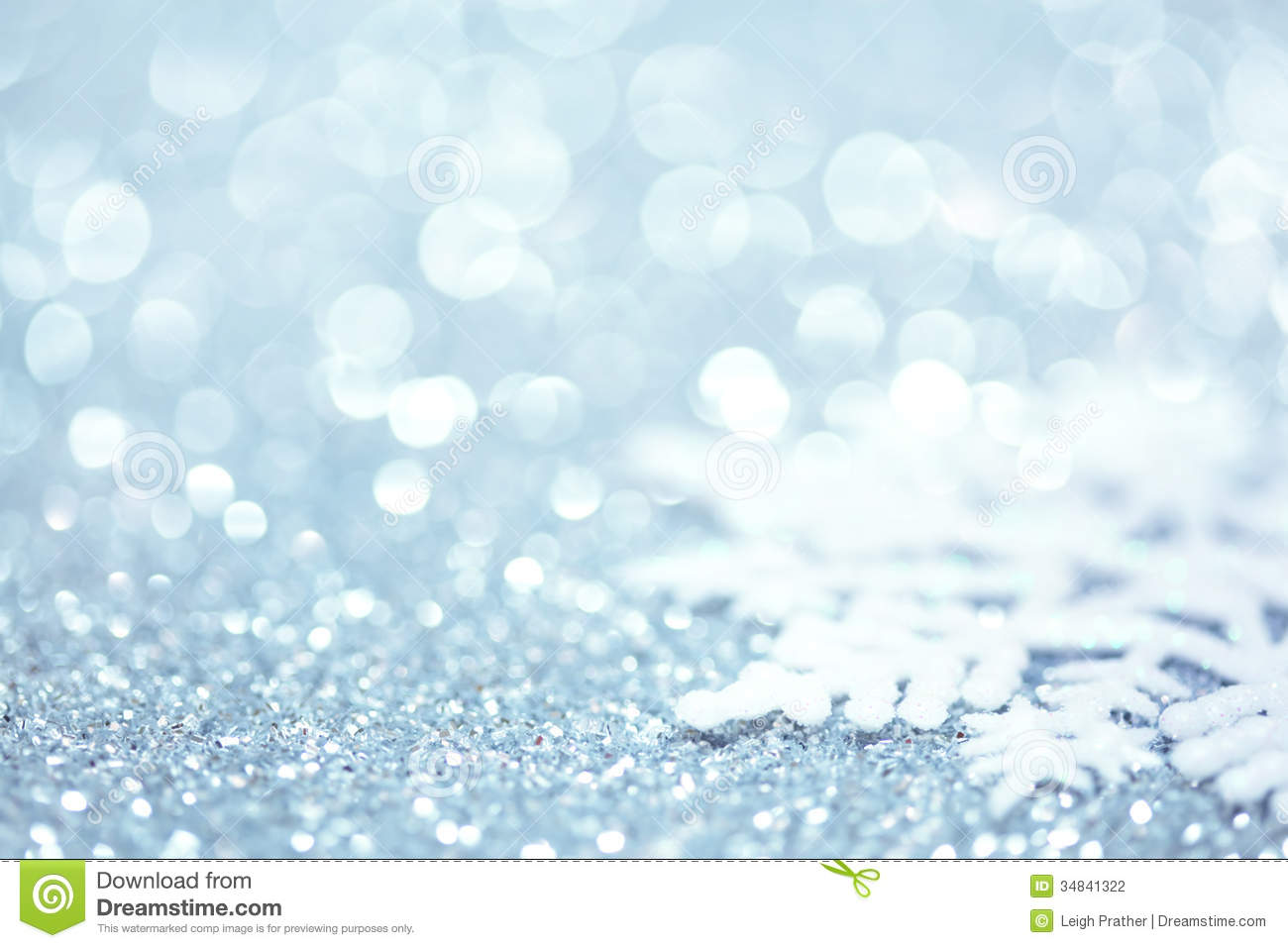 Cute Styles Girl Wallpaper Snowflake On Glitter Stock Photography Image 34841322