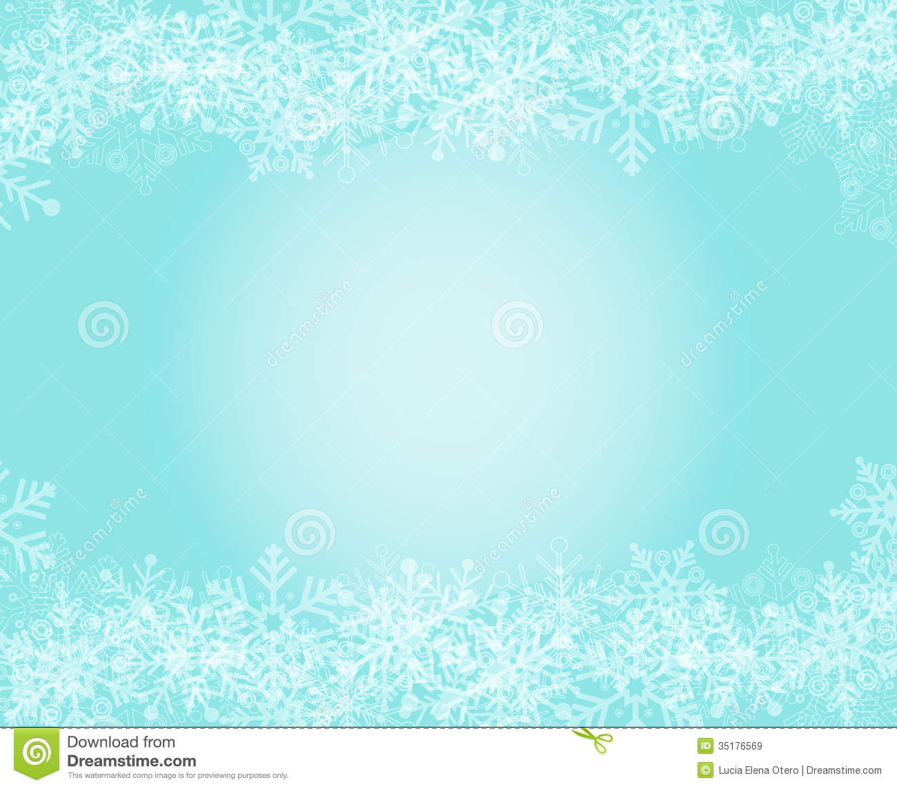 Wallpaper Border Falling Off Snowflakes Background Stock Vector Image Of Christmas