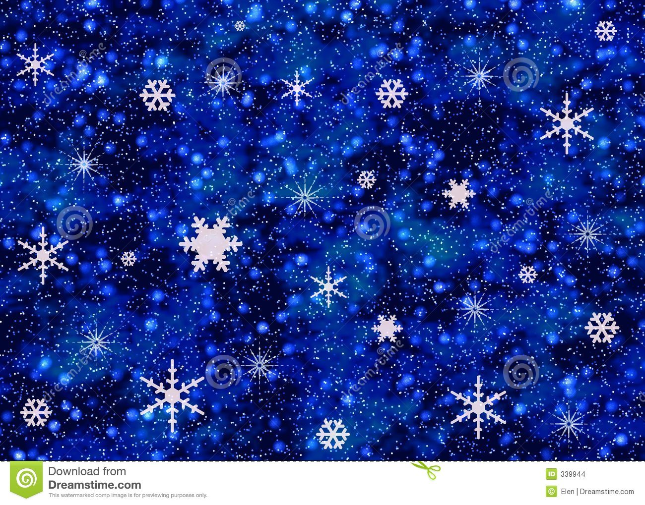 Christmas Wallpaper Snow Falling Snowflakes On Night Sky Stock Images Image 339944