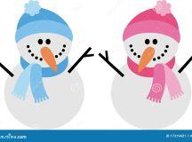 Snowman Stock Image - Image: 17319421