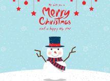 Snowman (Christmas Cards) Stock Vector - Image: 47161313