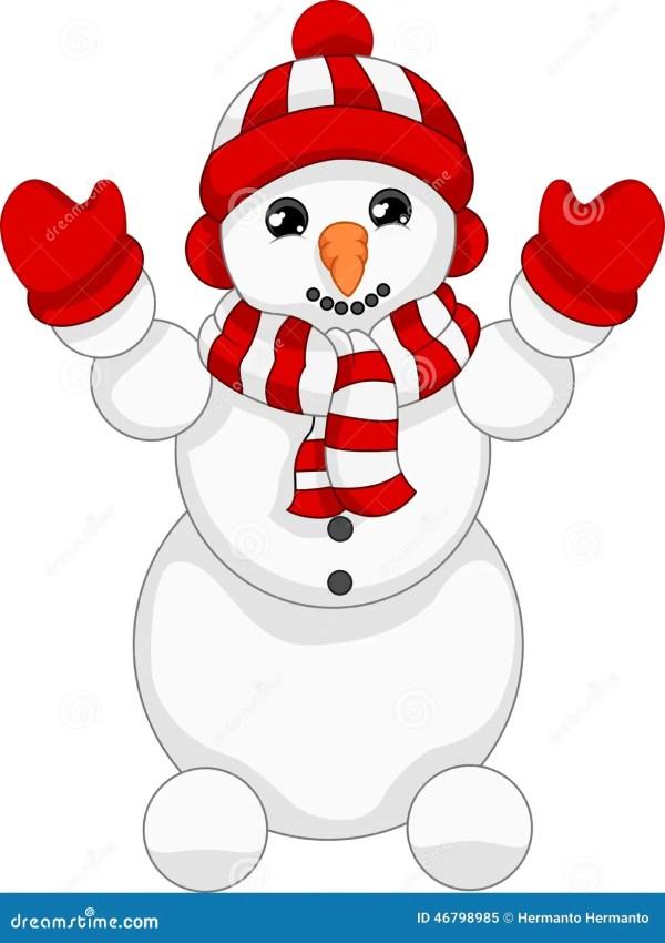 Snowman Stock Illustration - 46798985