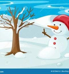 snowman in the snow field [ 1300 x 1010 Pixel ]