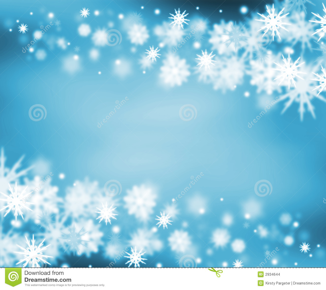 Snowy Border Stock Images Image 2934644