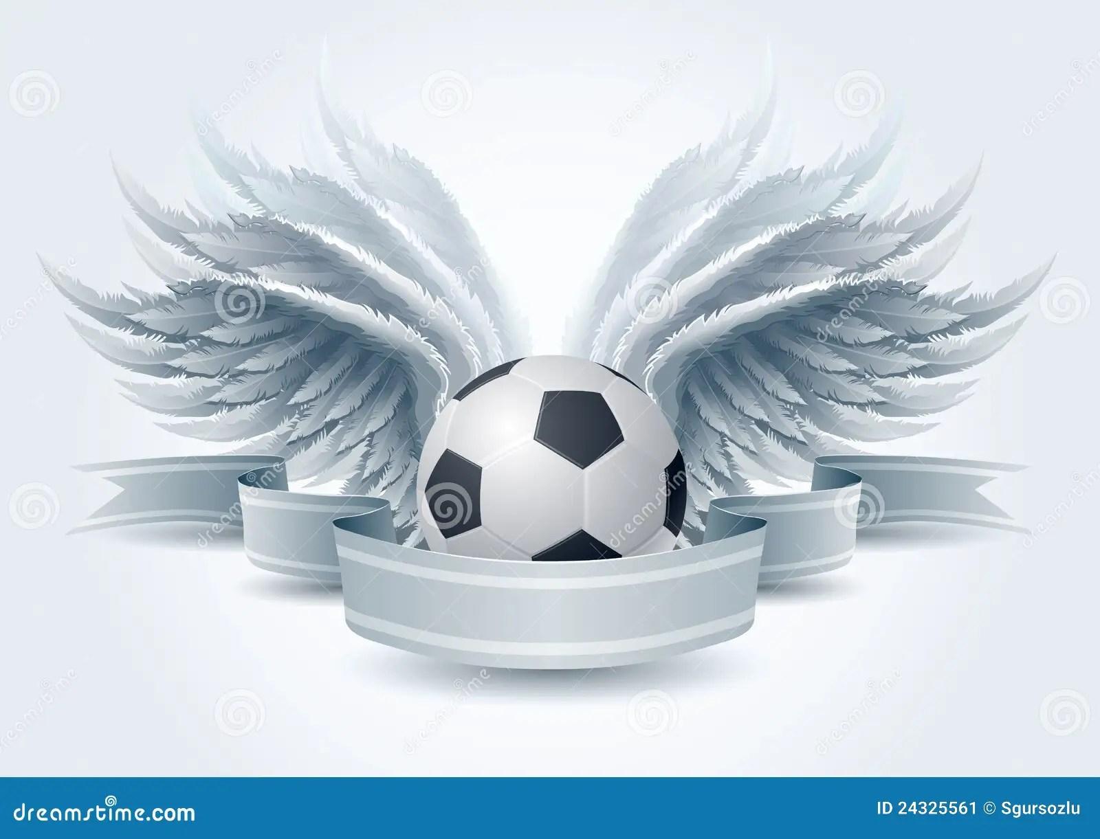 Soccer Angel Banner Stock Vector Image Of Illustration 24325561