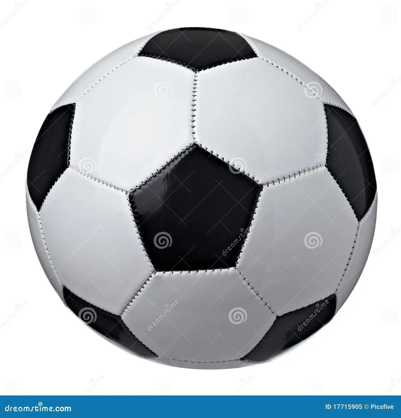 Soccer Ball Stock Image Image Of Leisure Pentagon Round