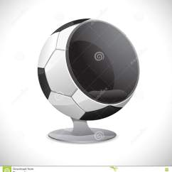 Inflatable Soccer Ball Chair Wedding Covers Hire London Stock Photo Image 20628670
