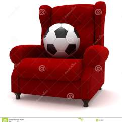 Chair Ball Game Wedding Cover Hire Lancashire Soccer In Easy Royalty Free Stock Photography