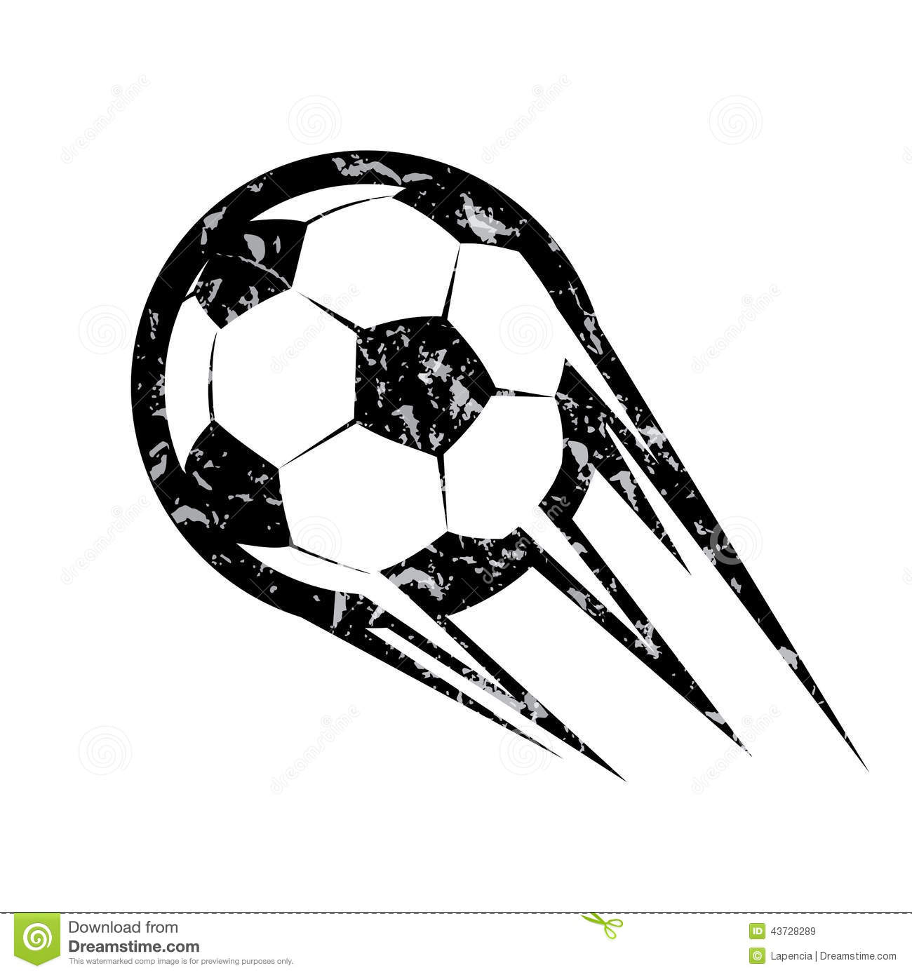 Soccer Ball Football Vector Symbol Stock Vector