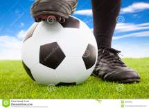Players On Soccer Field