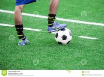 Foot Ball Player On Soccer