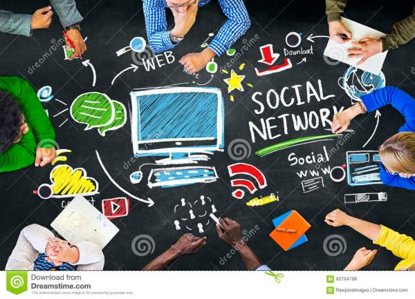 Learning Education Media Internet Networking Concept