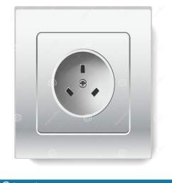 electricity socket isolated electric item house wiring vector power and current wall device or connector european type square shape adapter technology plug  [ 1472 x 1689 Pixel ]
