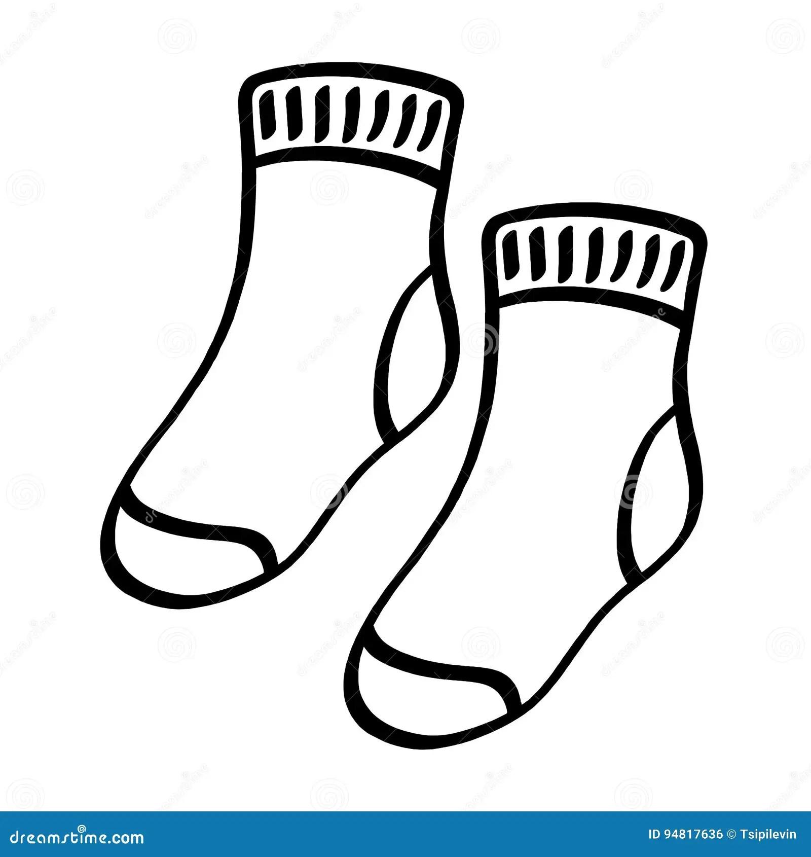 Socks Cartoons Illustrations Amp Vector Stock Images