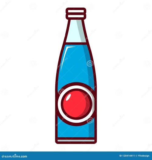 small resolution of soda bottle icon cartoon style