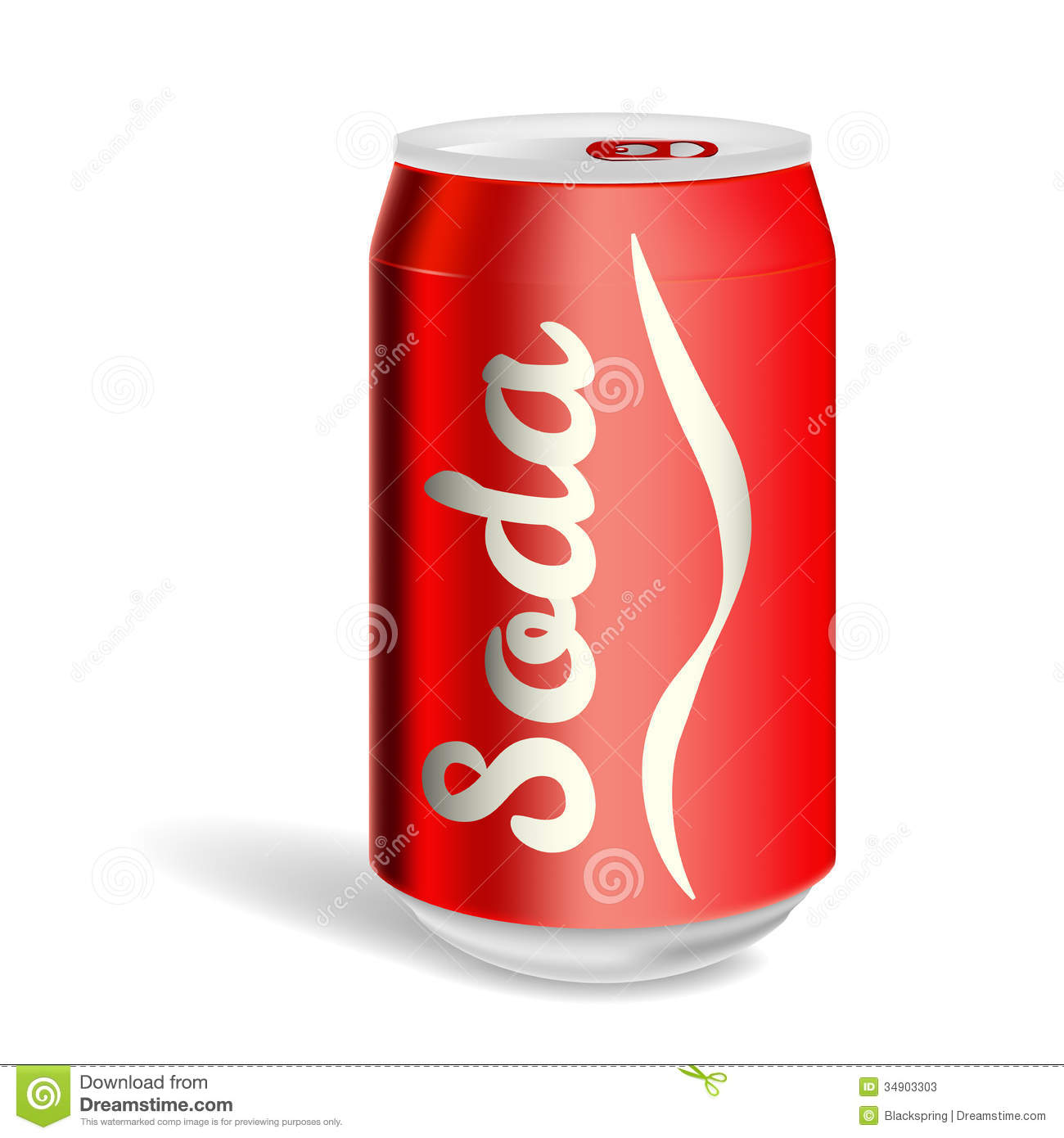hight resolution of soda can