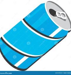 soda can vector clipart design illustration [ 1300 x 1353 Pixel ]