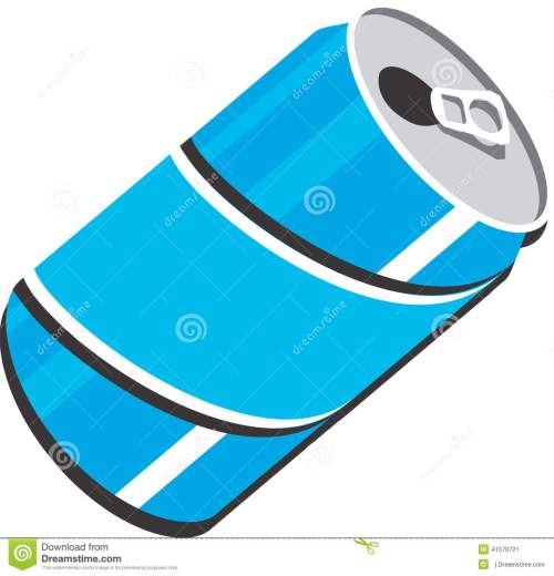 small resolution of soda can vector clipart design illustration