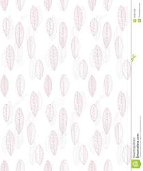 Hand Drawn Delicate Abstract Leaves Vector Pattern Pastel Light Pink And Light Grey Cute Design White Background Stock Illustration Illustration of abstract bunch: 122807498