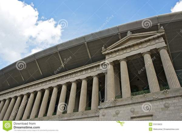 Soldier Field Chicago Stock Of Architecture