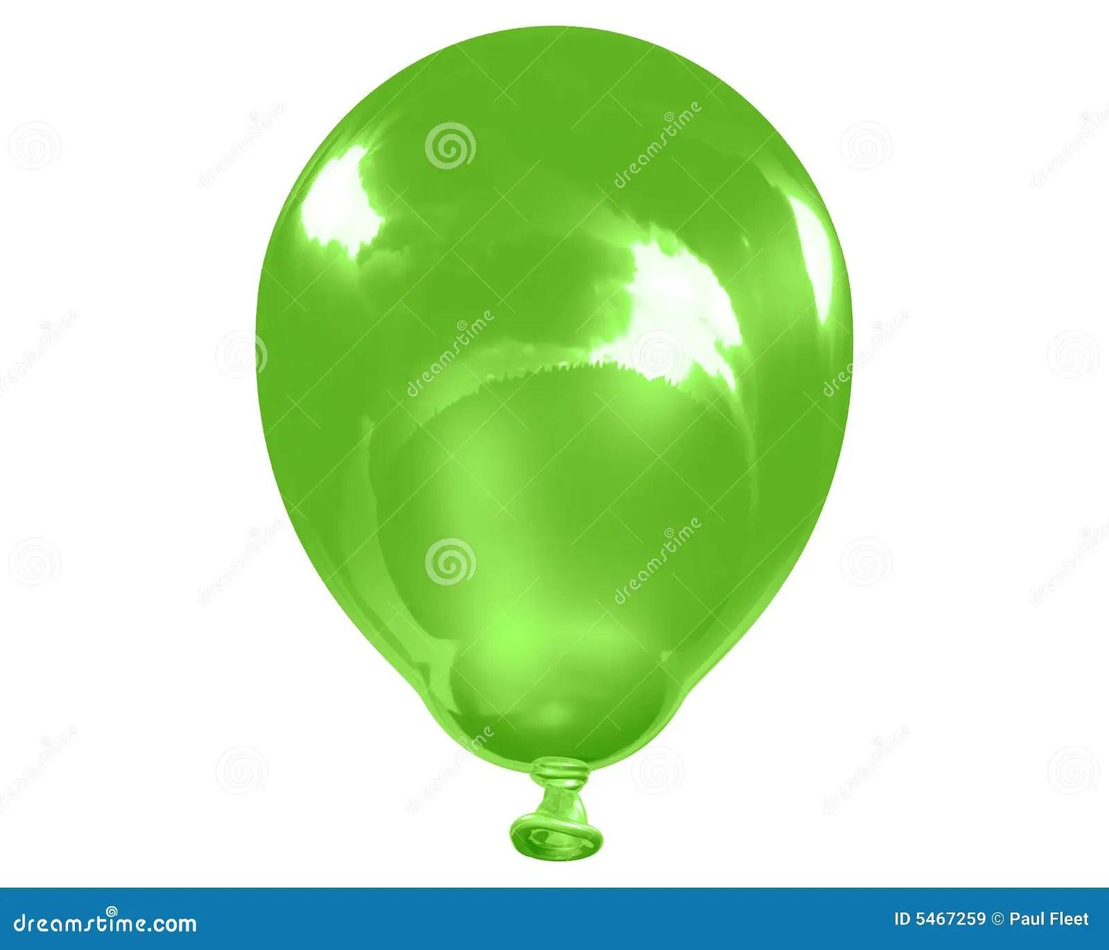Solo Globo Verde Reflexivo Stock De Ilustracion Ilustracion De Partido