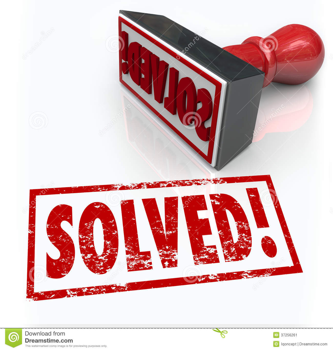 hight resolution of solved stamp solution to problem challenge overcome
