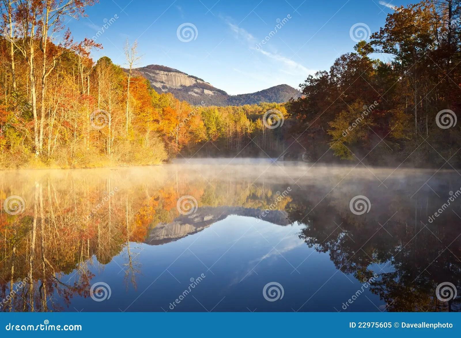 Fall Smoky Mountains Wallpaper South Carolina Autumn Landscape Table Rock Fall Royalty