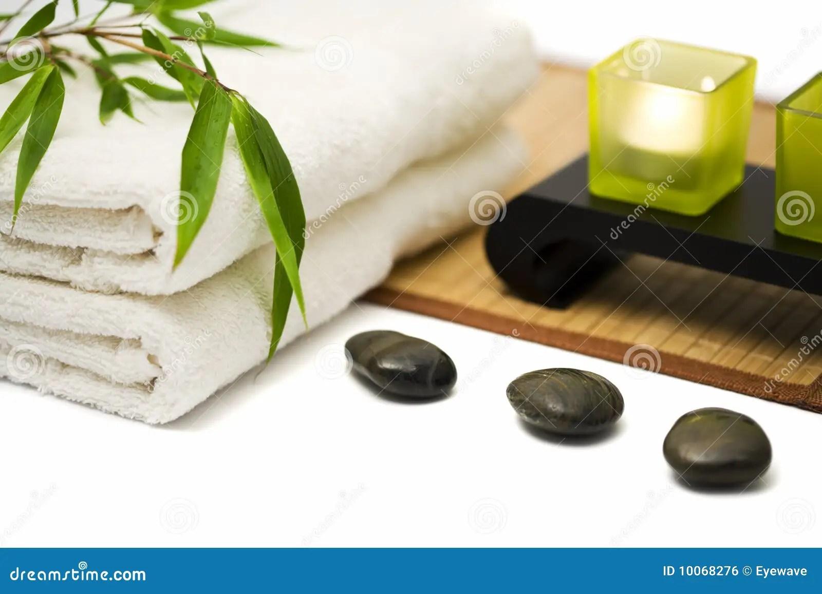 Spa background stock photo Image of freshness white