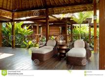 Spa Lounge Area Relaxation Stock - Of