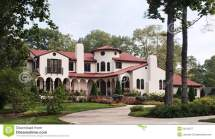 Spanish Hacienda Style Homes Plans