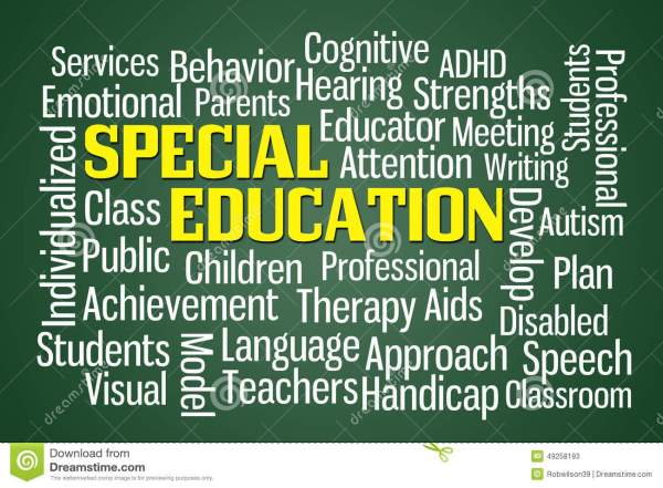 Special Education Stock - 49258193