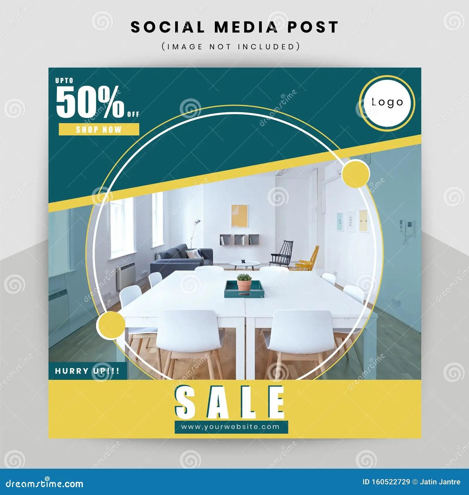 https www dreamstime com special offer sale social media poster design template image160522729