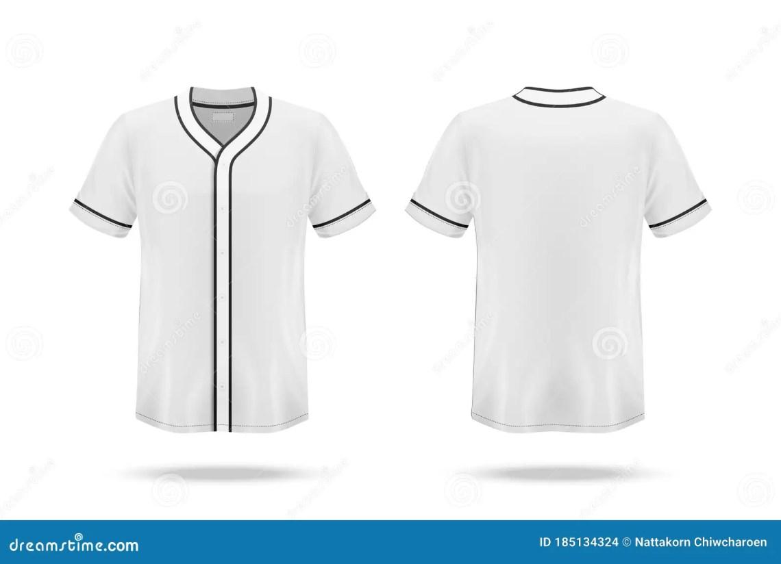 Download Specification Baseball Jersey T Shirt Mockup Stock Vector ...