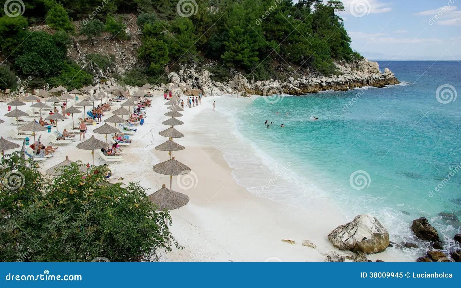 Spiaggia Di Marmo  Spiaggia Di Saliara Isola Di Thassos