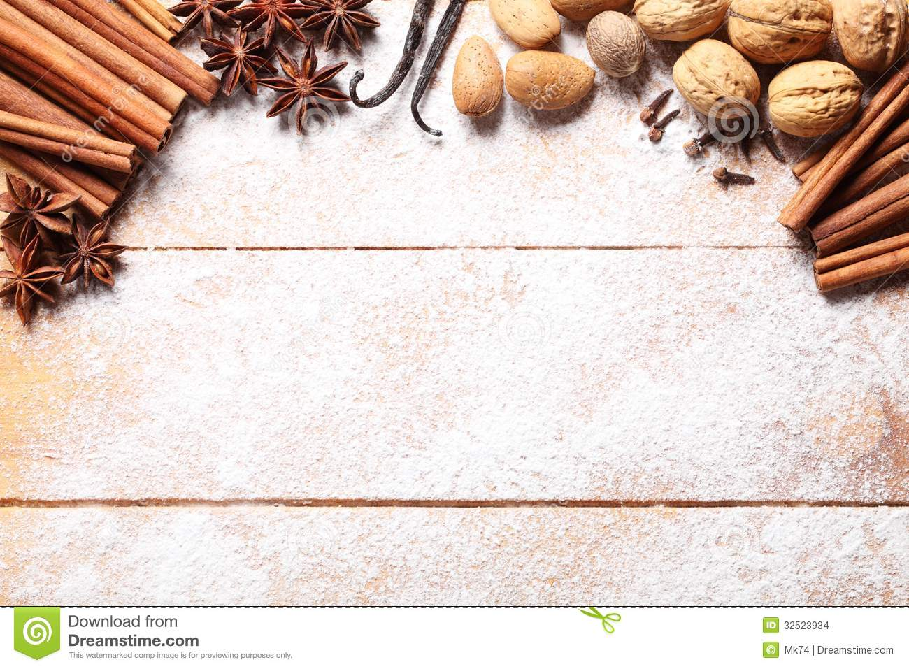 Spices Background Stock Images Image 32523934