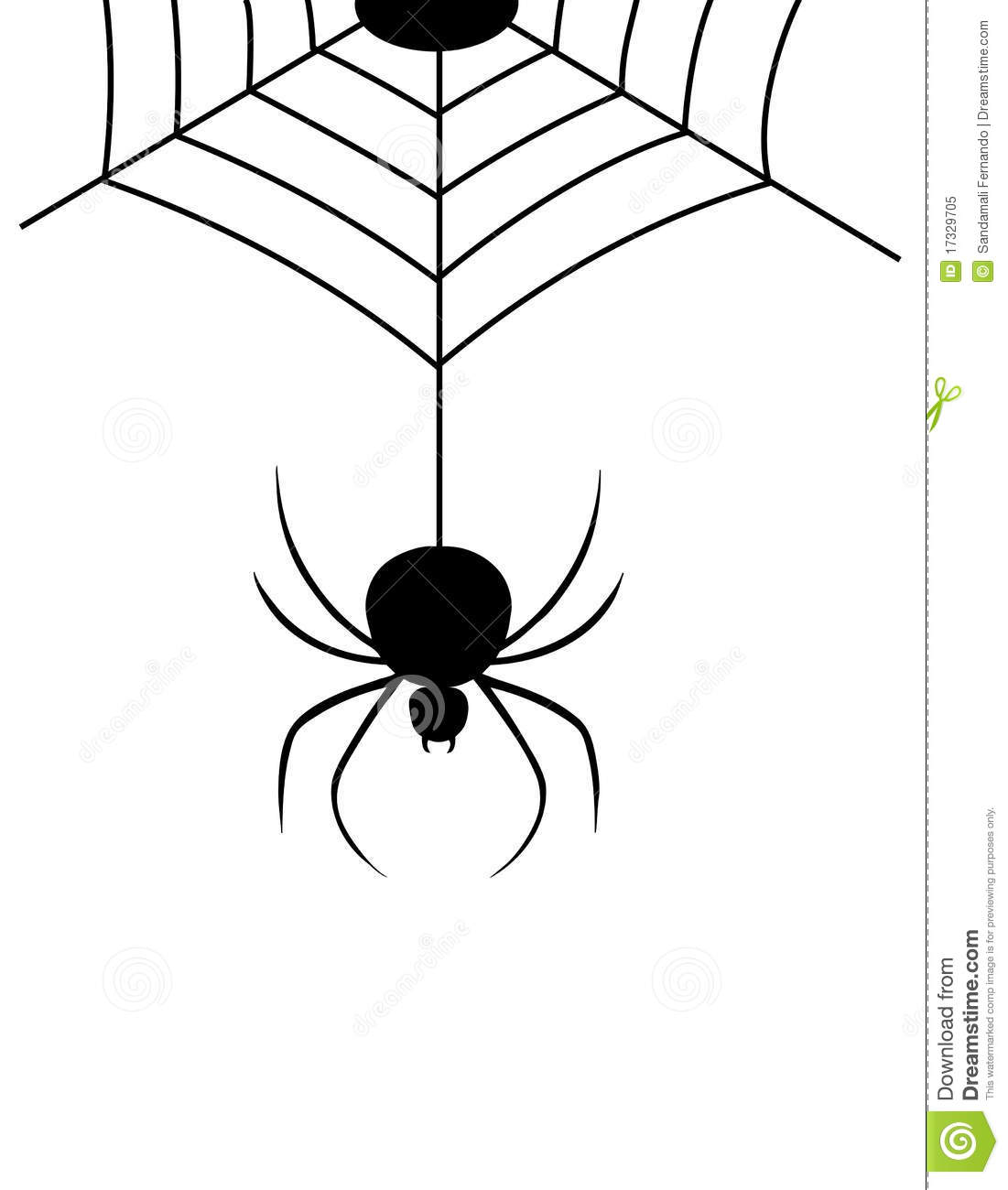 Spider Webs Royalty Free Stock Photo