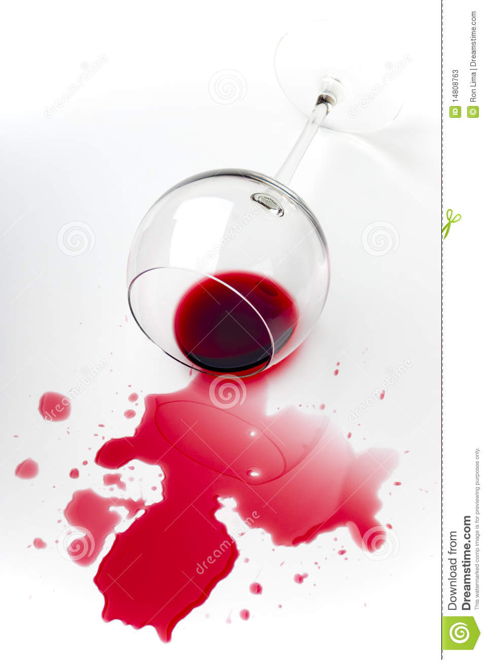 Spilled Red Wine Stock Photos  Image 14808763
