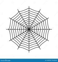Spinnennetz Spinne ` S Netz Stock Abbildung   Illustration ...