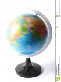 Spinning Political Globe / Atlas Royalty Free Stock Images ...