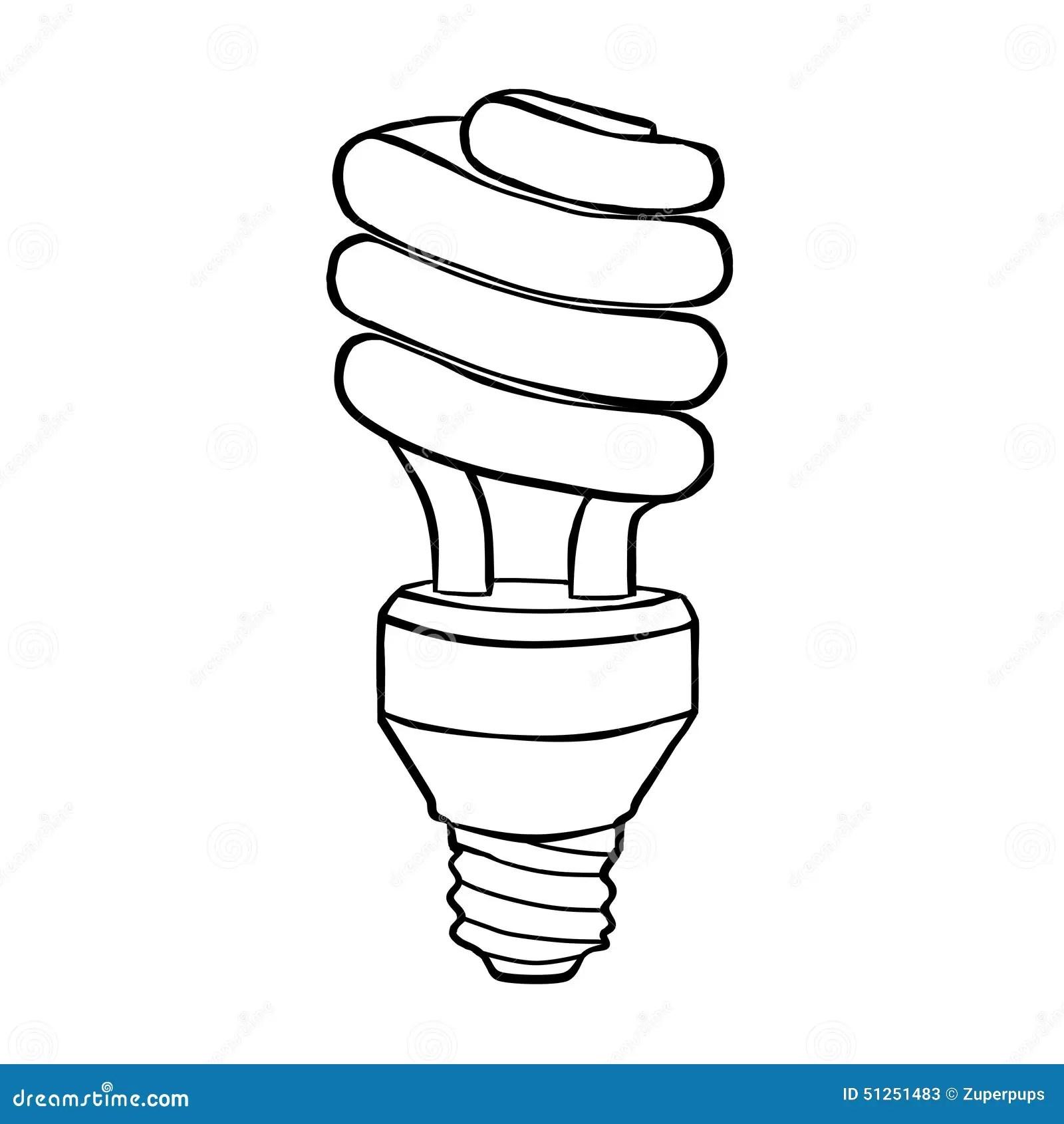 Spiral Energy Saving Electric Discharge Lamp Stock