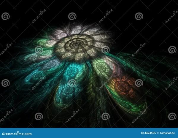Spiral Fractal Mosaic Stock - 29