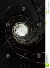 Spiral Staircase stock image. Image of directly, hypnosis ...