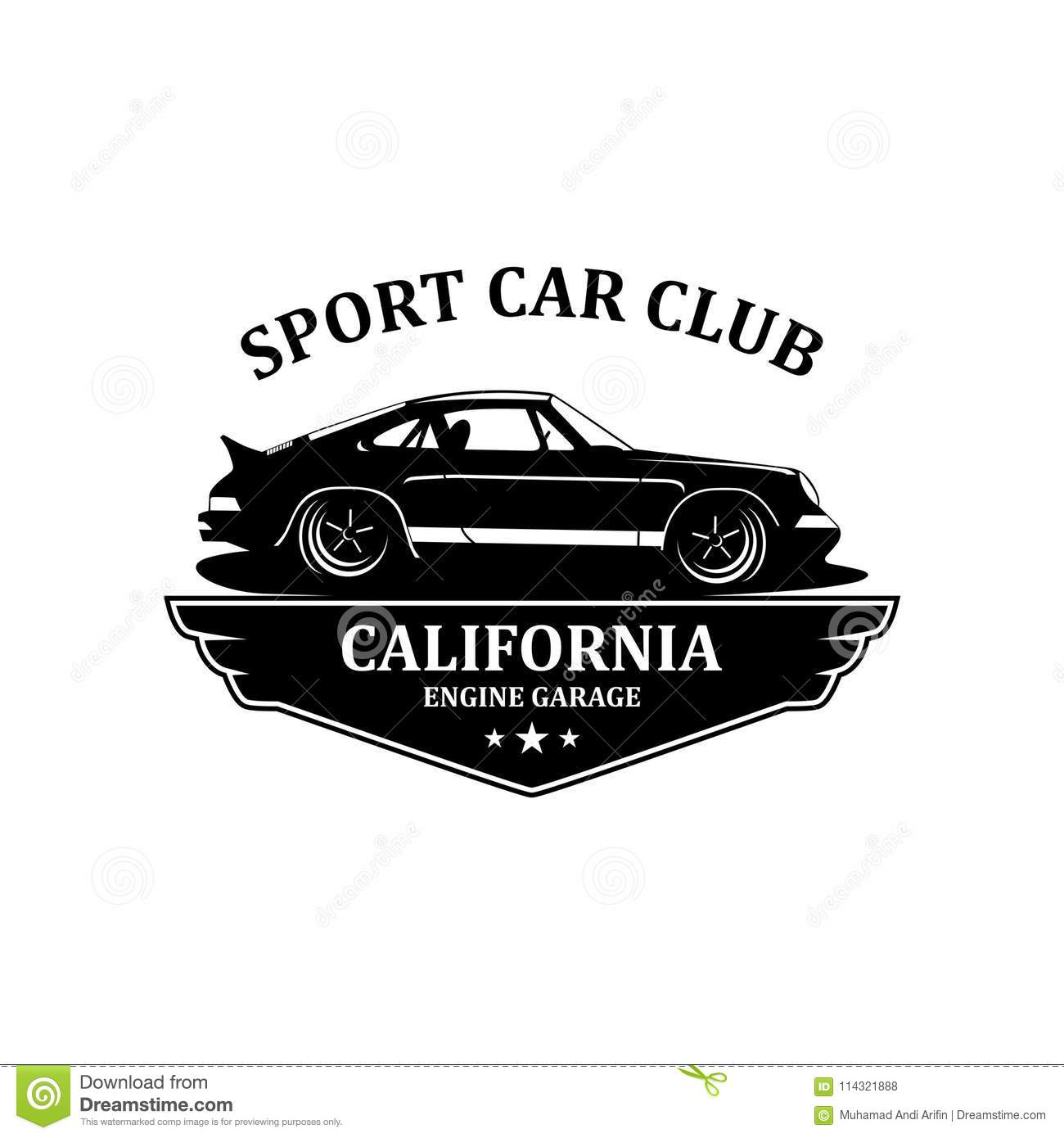 sport car club logo