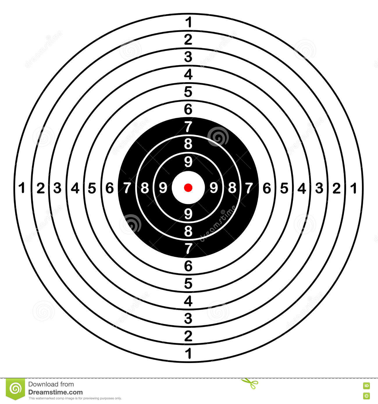 Archery Shooting Range Diagram