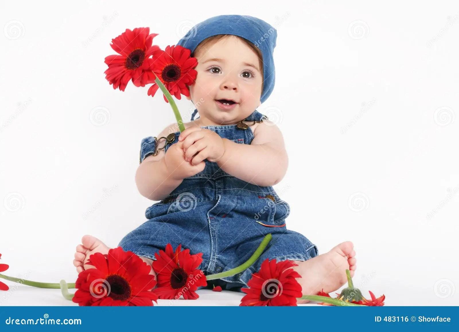 Spring Baby Royalty Free Stock Image Image 483116