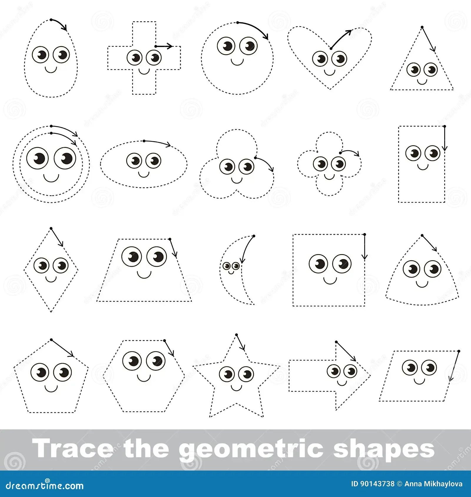 Spurtutorium Damit Kinder Geometrische Formen Lernen