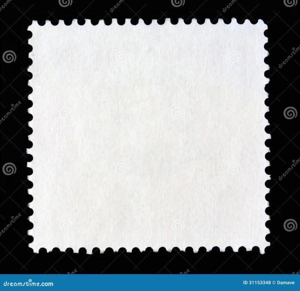 Square postal stamp shape stock photo Image of nobody