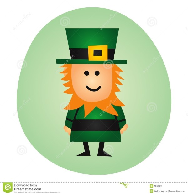 St Patricks Day Leprechauns Stock Illustration