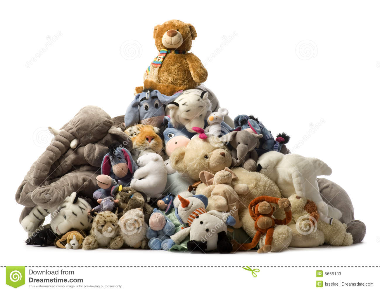 The Gallery For Gt Pile Of Stuffed Animals Clipart