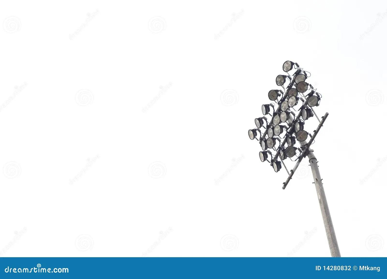 Stadium Light Stock Photography